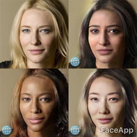 popular face aging app  offers black indian