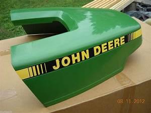 Deere F525 F510 Plastic Hood Engine Cover Rear Panel