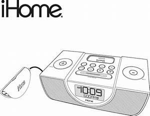 Ihome Clock Radio Ip43 User Guide