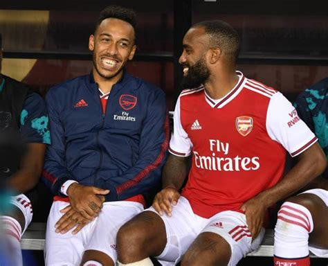 Lacazette reveals what he knows about Aubameyang's ...