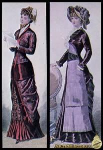 Moda Femenina De La  U00e9poca Victoriana