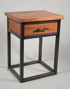 Metal And Woods : wood metal bedroom suite trevor thurow furniture design ~ Melissatoandfro.com Idées de Décoration