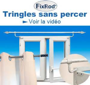 Rideau Velux Sans Percer by Fixrod Tringle Rideau Sans Percer Secodir Deco Jpg