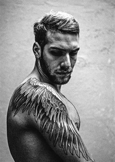 Best Men Tattoos 2018 | Wing tattoo men, Tattoos for guys, Feather tattoos