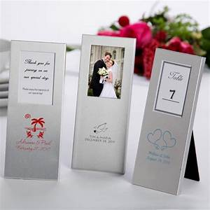 wedding place card holders placecard frames favor frames With wedding favor picture frames