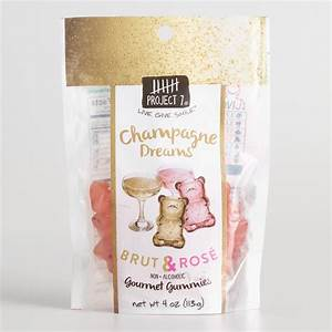Project 7 Champagne Dreams Gummy Candy World Market
