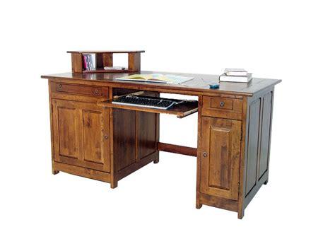 le bureau bois bureau multimédia métis en bois massif plateau