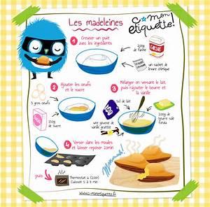 Recette De Gateau Pour Enfant : recette de madeleines cuisine recette madeleine recette et recette gateau ~ Melissatoandfro.com Idées de Décoration