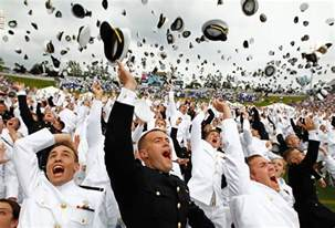 Us Naval Academy Graduation Ceremony