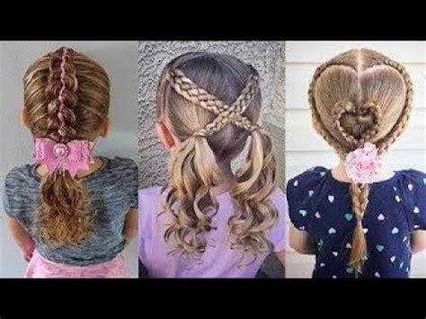 satisfying  cute  girls hairstyle tutorials viral