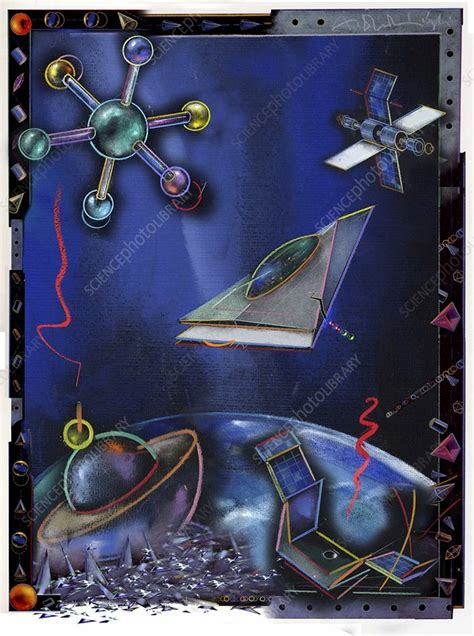 Scientific discoveries and inventions - Stock Image - C010 ...