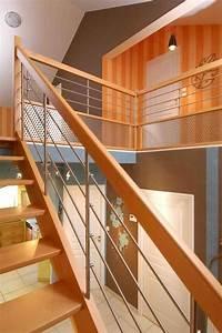 escalissime nos escaliers escaliers bois contemporains With peindre rampe escalier bois 9 yves deneyer menuiserie metallique ferronnerie