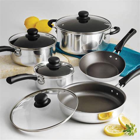pots cuisine nonstick 9 pots and pans cookware set cooking set ebay