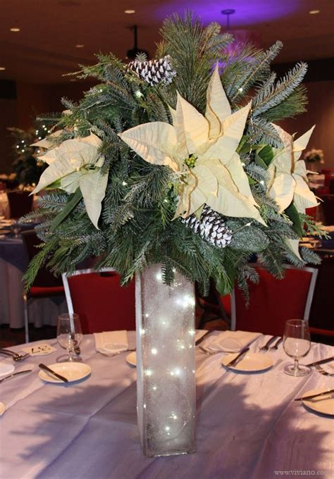 corporate holiday party frozen white  blue winter