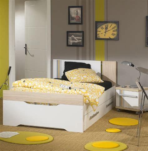 chambre et gris ado déco chambre jaune
