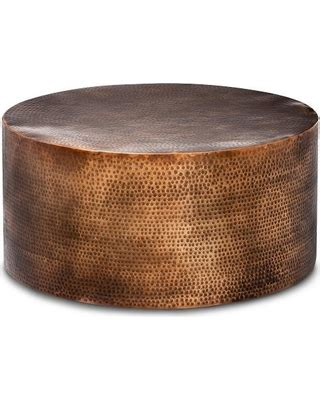 hammered copper table ls on sale winter shopping deals on granby hammered barrel coffee
