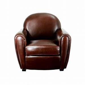 Fauteuil Vintage Pas Cher : fauteuils cuir achat vente fauteuils cuir pas cher cdiscount ~ Teatrodelosmanantiales.com Idées de Décoration