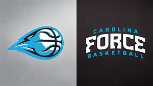 Carolina Force Basketball Logo Design