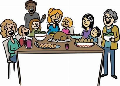 Dinner Clipart Thanksgiving Restaurant Transparent Eating Meal