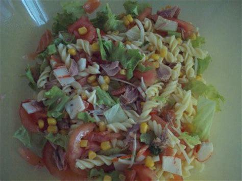 salade aux fruits de mer les recettes de la cuisine de asmaa