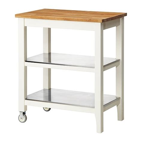 kitchen island cart ikea ikea stenstorp kitchen cart in oak with stainless steel shelves islands kitchen furniture