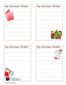 christmas wish list maker christmas wish list template free microsoft word templates