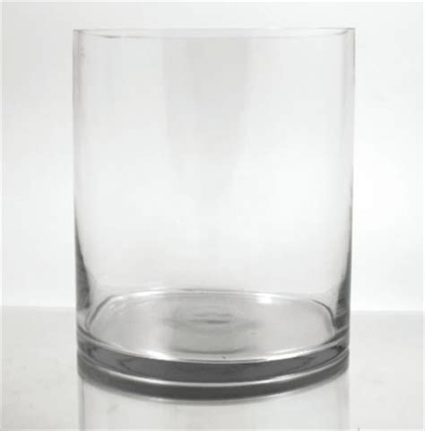 Cylinder Vases by Glass Cylinder Vase 12 Quot X 9 Quot