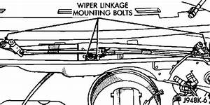 Service Manual  How To Remove 1997 Dodge Dakota Wiper Arm
