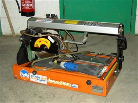 saw tile cutter hire tile saw with radial arm and 200mm blade for hire