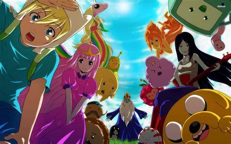 Adventure Time Wallpaper Anime - adventure time background pixelstalk net
