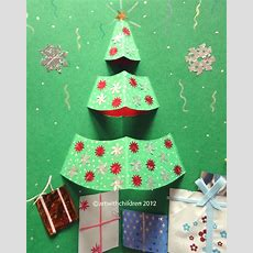 Christmas Tree Popup Card