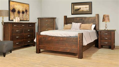 rustic master bedroom furniture solid wood furniture saskatoon oaksmith interiors 17019