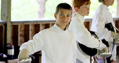 fencing lessons fencing classes fencing  kids kids