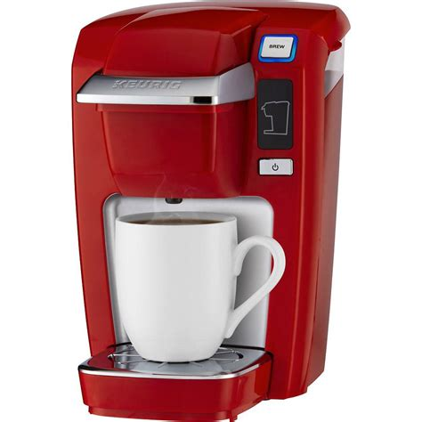 The keurig coffee makers combine a conventional drip system with a bit of pressure for quicker brewing. Keurig K15 Single Serve Coffee Maker for $39.99 Shipped