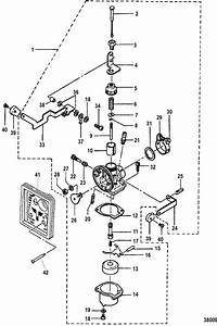Mercury Marine 3 3 Hp Carburetor Parts