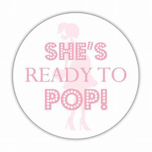 She39s ready to pop stickers dazzling daisies for Shes ready to pop stickers