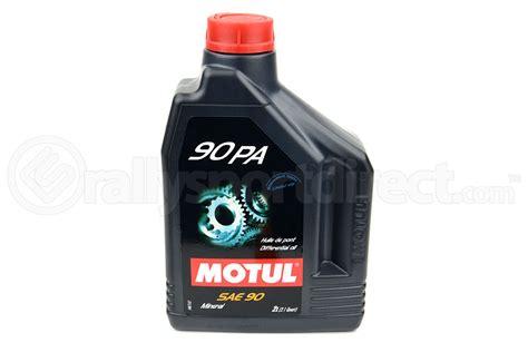 Motul 90 PA Limited Slip Differential Oil 21QT Subaru R180