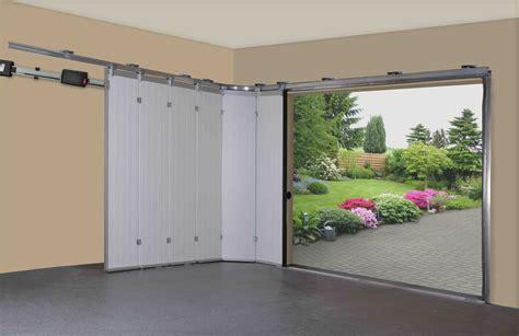 horizontal sliding garage doors sliding garage doors garage decor and designs bifold