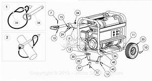 Powermate Formerly Coleman Pm0545002 Parts Diagram For