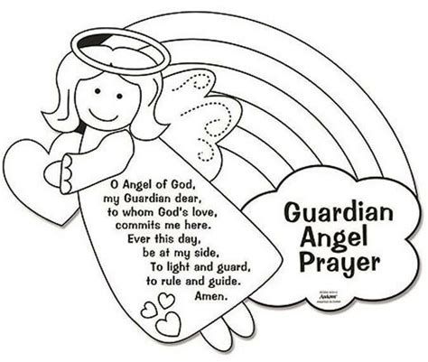 color your own guardian prayers arts amp crafts 921 | s l1000