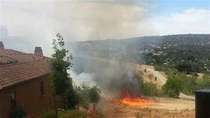 Grass Fire Burns Close To Homes In El Dorado Hills