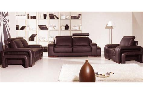 canape cuir luxe italien ensemble 3 pièces canapé 3 places 2 places fauteuil