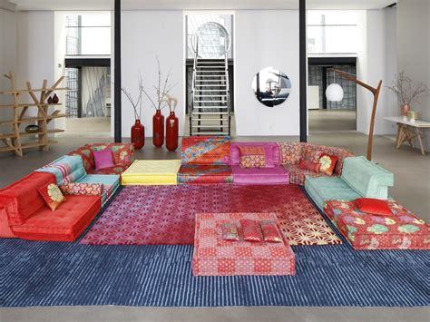 canapé roche bobois kenzo sectional modular fabric sofa mah jong kenzo takada by
