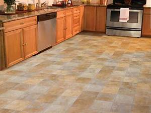 Kitchen flooring ideas vinyl home decor takcopcom for Kitchen cabinets lowes with removable floor tile stickers