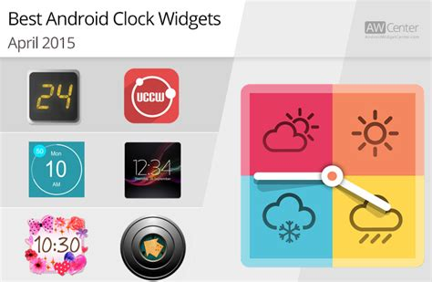 best android clock widget best clocks for android 2015 reversadermcream