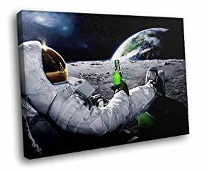Amazon.com: H5J1912 Astronaut Moon Cool Carlsberg ...