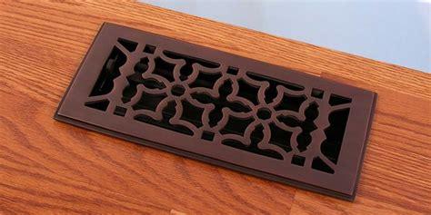 rubbed bronze floor register covers rubbed bronze finish floor registers heat