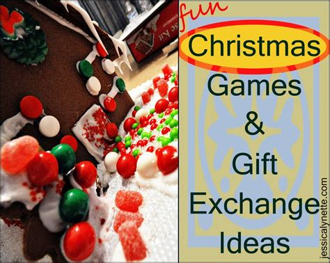 christmas games gift exchange ideas group activities