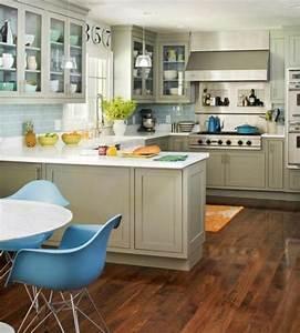 Küche Auf Vinylboden Stellen : u form k che 35 designideen f r ihre moderne k cheneinrichtung ~ Markanthonyermac.com Haus und Dekorationen