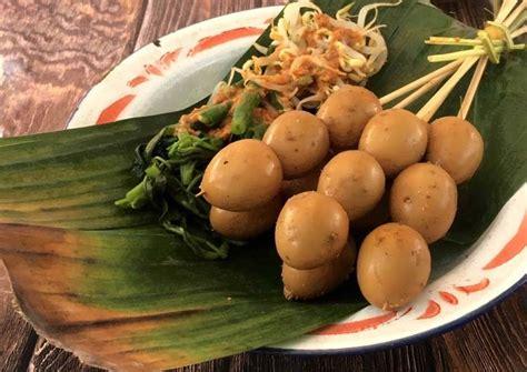 Gunendri#telurbacem#ayomasak#kulinerindonesia telur bacem adalah makanan khas dari cara membuat telur bacem hitam pekat bu yun kali ini akan membagikan resep telur bacem yang. Resep Sate Telur Puyuh Ala Angkringan oleh Pratiwi Pramuharsih - Cookpad